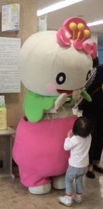 阿倍野区のマスコットキャラクター「あべのん」です!