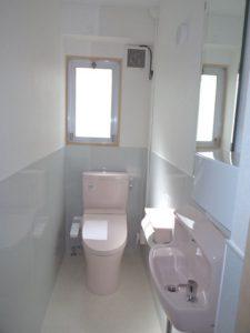 トイレもリニューアル♪
